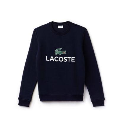 Lacoste Men s Lacoste logo sweatshirt donkerblauw