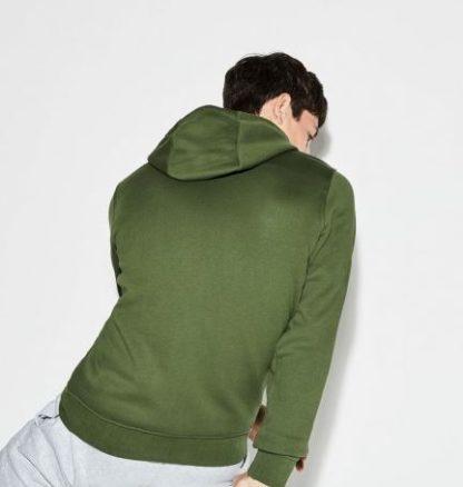 Lacoste Men s hooded sweatvest groen