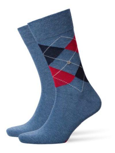 Burlington light denim 2-pack Everyday Mix heren sokken
