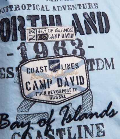 Camp David shirt 1/2 Bay of Island I
