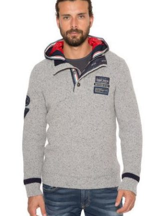 Camp David Deep Sea II pullover with hood