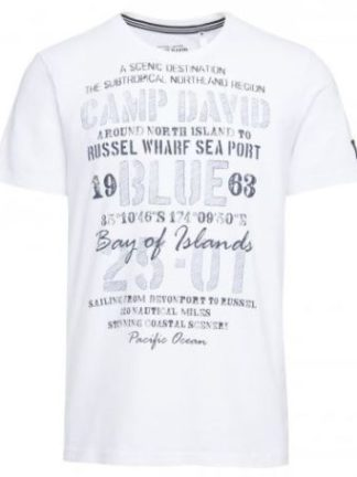 Camp David t-shirt 1/2 Bay of Island I