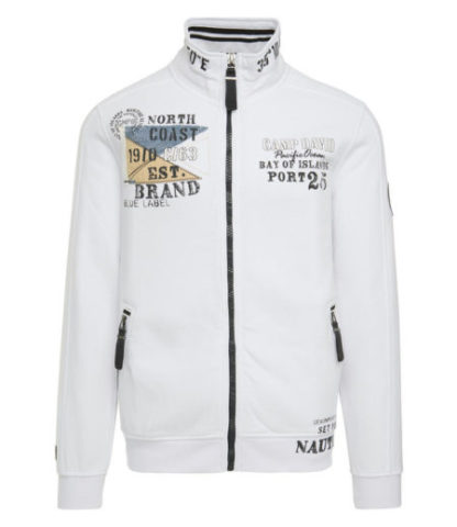 Camp David sweatjacket Bay of Island II