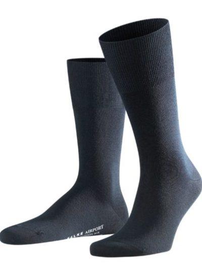 Falke dark navy Airport heren sokken