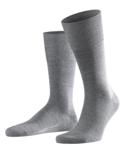 Falke dark grey Airport heren sokken