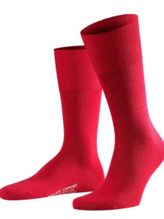 Falke scarlet Airport heren sokken