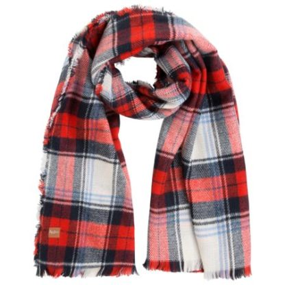 Pepe Jeans dames Ruit sjaal LETHA SCARF