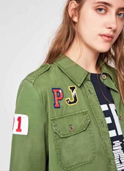 Pepe Jeans dames Badge blouse KATJA