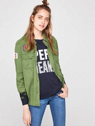 Pepe Jeans dames Badge blouse KATJA