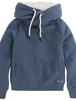 Pepe Jeans dames Hooded borg sweat BORGI