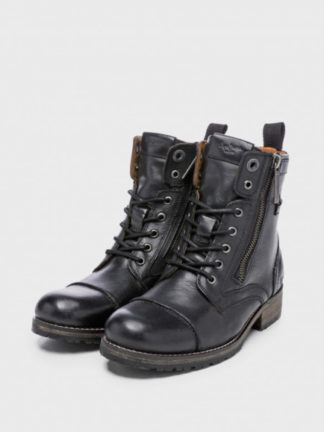 Pepe Jeans dames Boot MELTING W.ZIPPER zwart