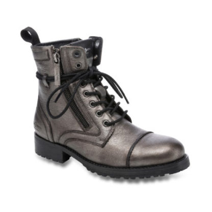 Pepe Jeans dames Boot MELTING METAL grijs
