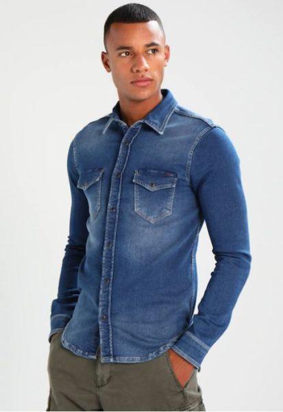 Jeans Overhemd Heren.Pepe Jeans Heren Jeans Shirt Jepson