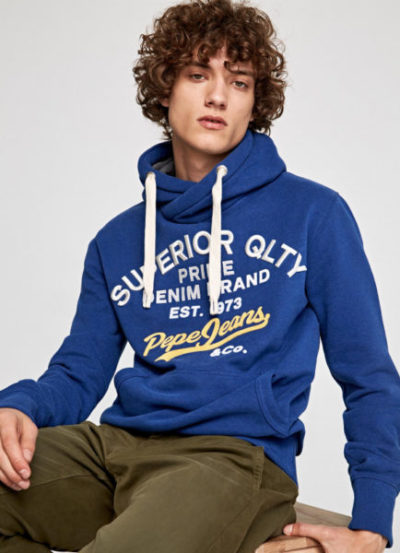 Pepe Jeans heren Hooded sweater WHESLEY