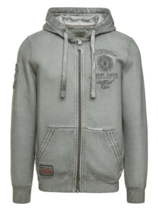 Camp David sweatjacket with hood The Race of Gentlemen II