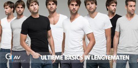 Girav t-shirts voor lange mannen!