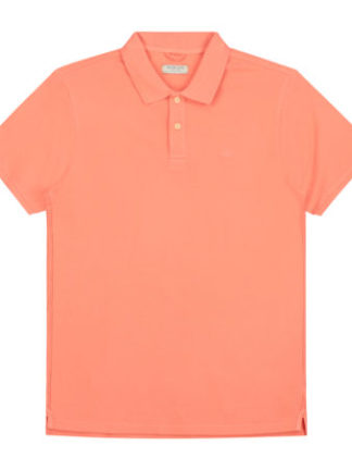 Dstrezzed Heren Bowie Basic Polo Pique Orange 202380