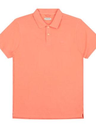 Dstrezzed Heren Bowie Basic Polo Pique Orange 202380