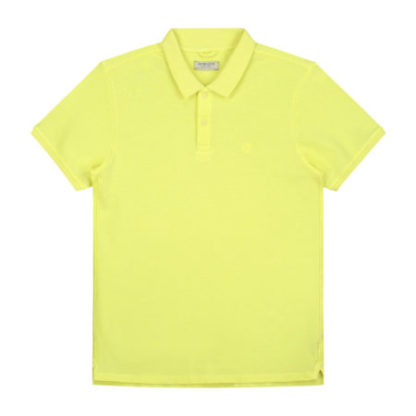 Dstrezzed Heren Bowie Basic Polo Pique Yellow 202380