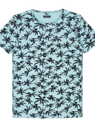 Dstrezzed Heren Crew Palm Single Lagoon Green 202376