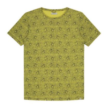 Dstrezzed Heren Crew Parrot Melange Yellow 202378