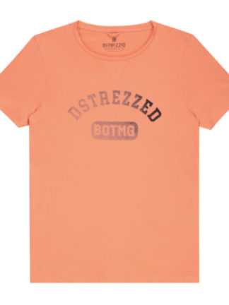 Dstrezzed Heren Logo T-shirt Orange 202404