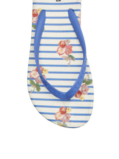 Joules Dames Slippers 201341 BLUFLRSTP