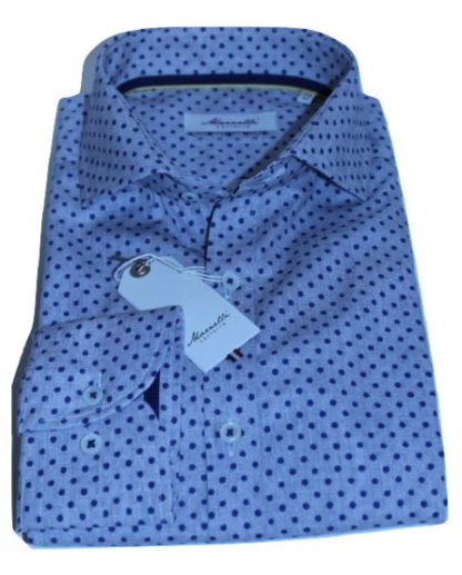 marnelli-overhemd-grijs-gestipt