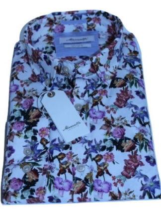 marnelli-overhemd-wit-bloem