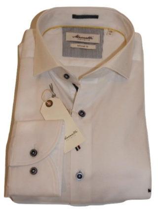marnelli-overhemd-wit-grijze knoop