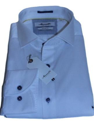 marnelli-overhemd-wit-met grijze knopen