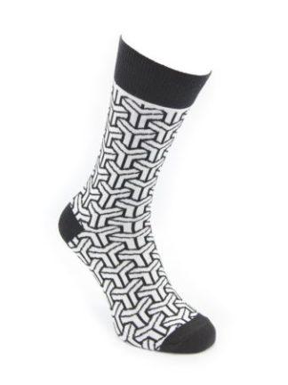 Tintl sokken Black&White - Paris