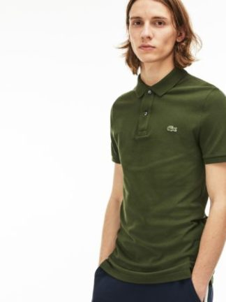 Lacoste Slim fit polo PH4012 CAPER BUSH