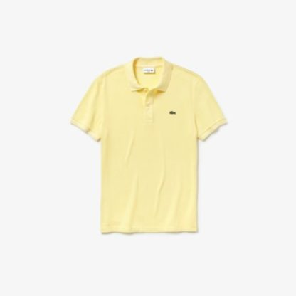 coste Slim fit polo  PH4012 NAPOLITAN YELLOW