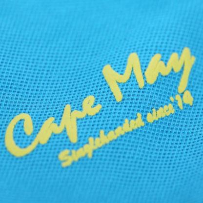 cape may polo alaia cobalt blauw logo