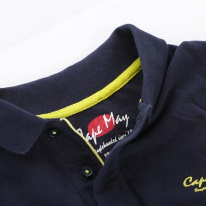cape may polo alaia donkerblauw kraag