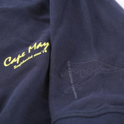 cape may polo alaia donkerblauw mouw