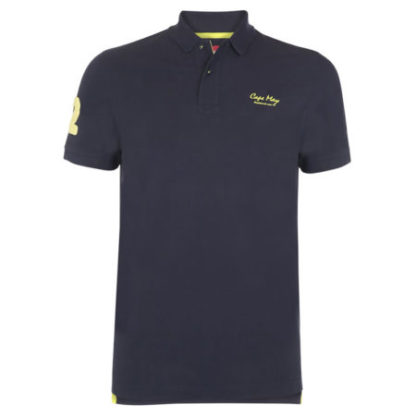 cape may polo alaia donkerblauw voor