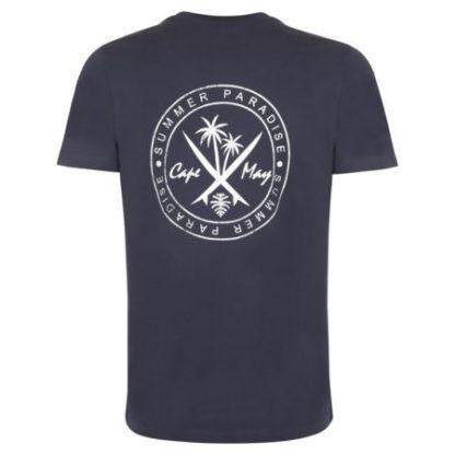 cape may t-shirt crest achter