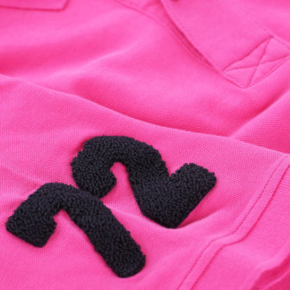 cape may polo alaia roze detail