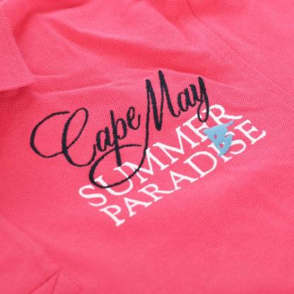 cape may polo tube roze summer
