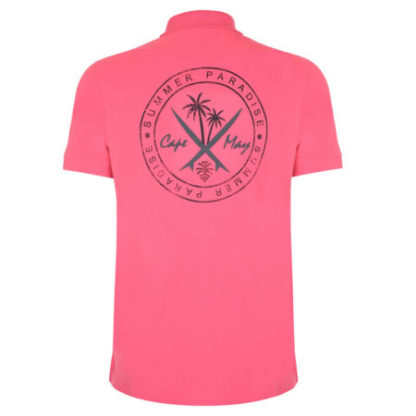 cape may polo tube roze achter