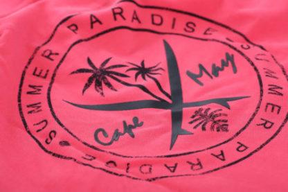 cape may polo tube roze logo