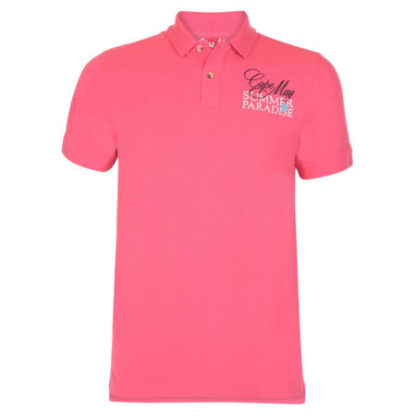 cape may polo tube roze voor