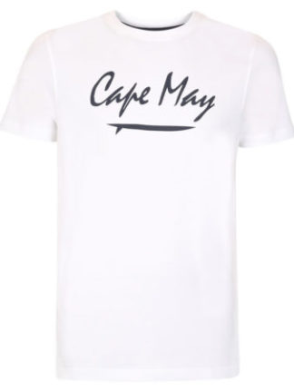 cape may t-shirt crest wit