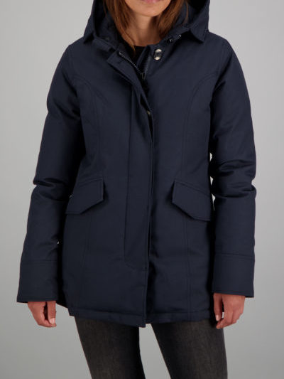 Airforce_dames_jassen_2_Pocket_parka_torso_Bl