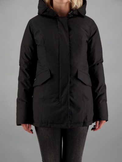 Airforce dames 2 POCKET PARKA zwart