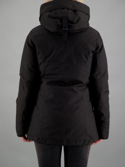 Airforce_dames_jassen_2_pocket_parka_back_2_zw