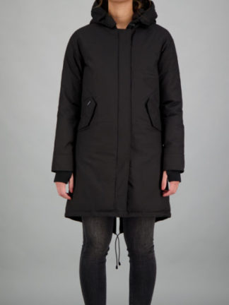 Airforce_dames_jassen_fishtail_parka_torso_zw