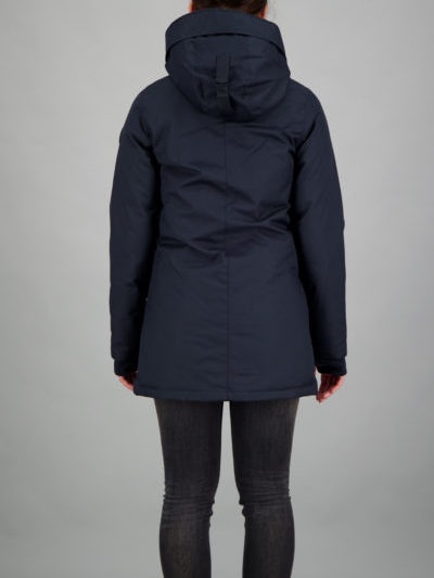 Airforce_dames_jassen_slimfit_parka_back_bl